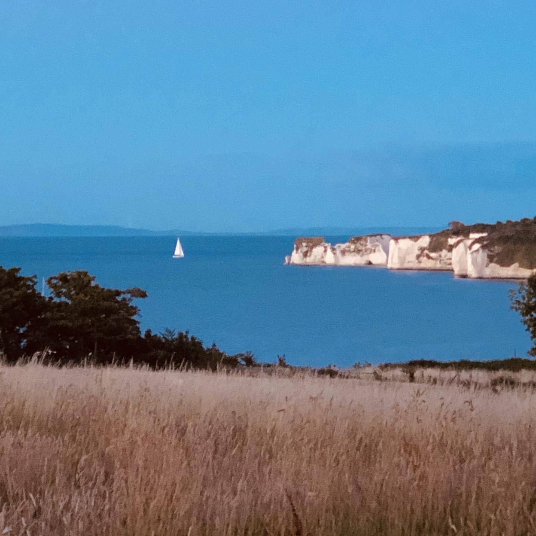 View of Studland bay, dorset
