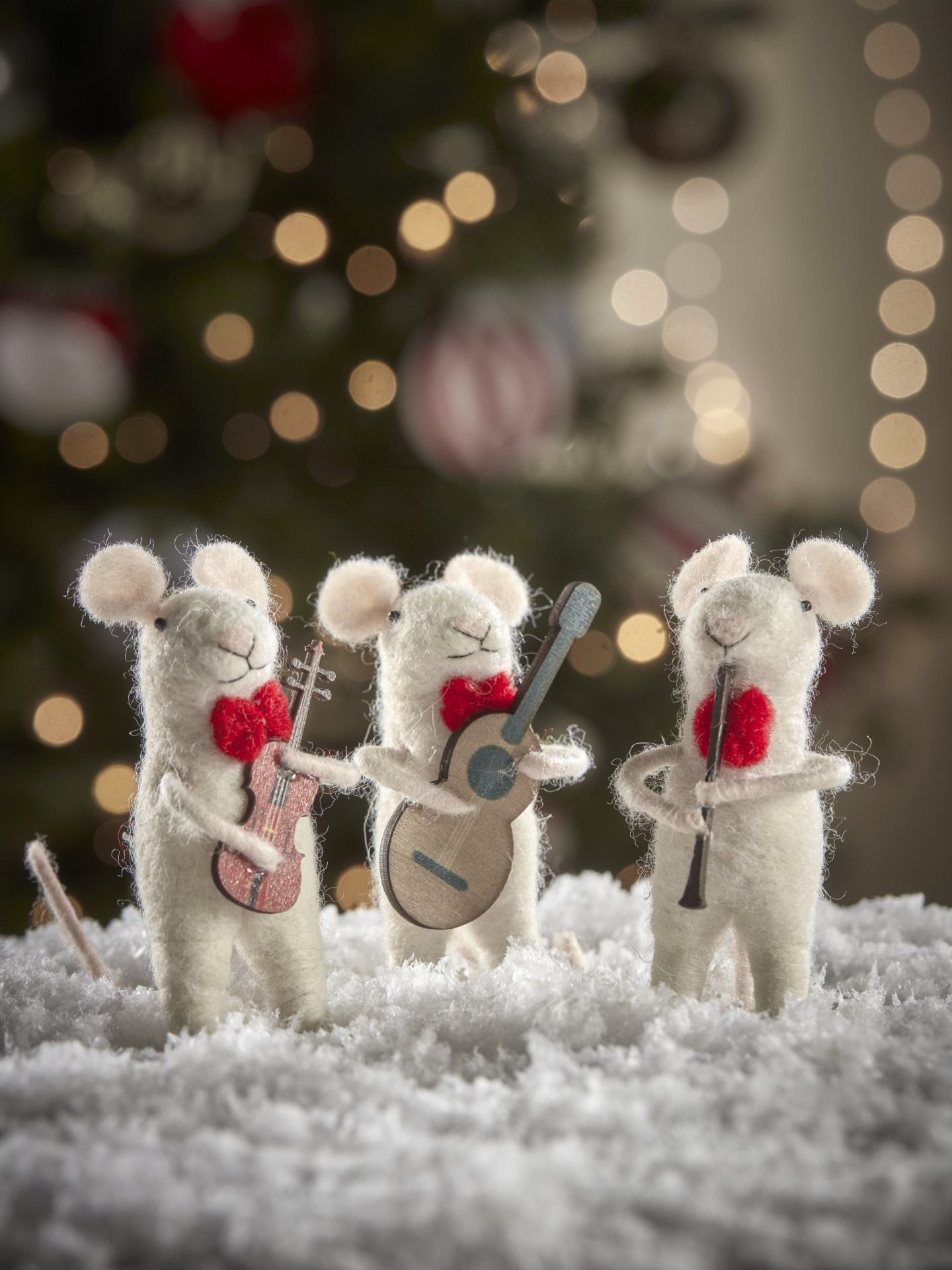 Felt mice band from Cox and cox