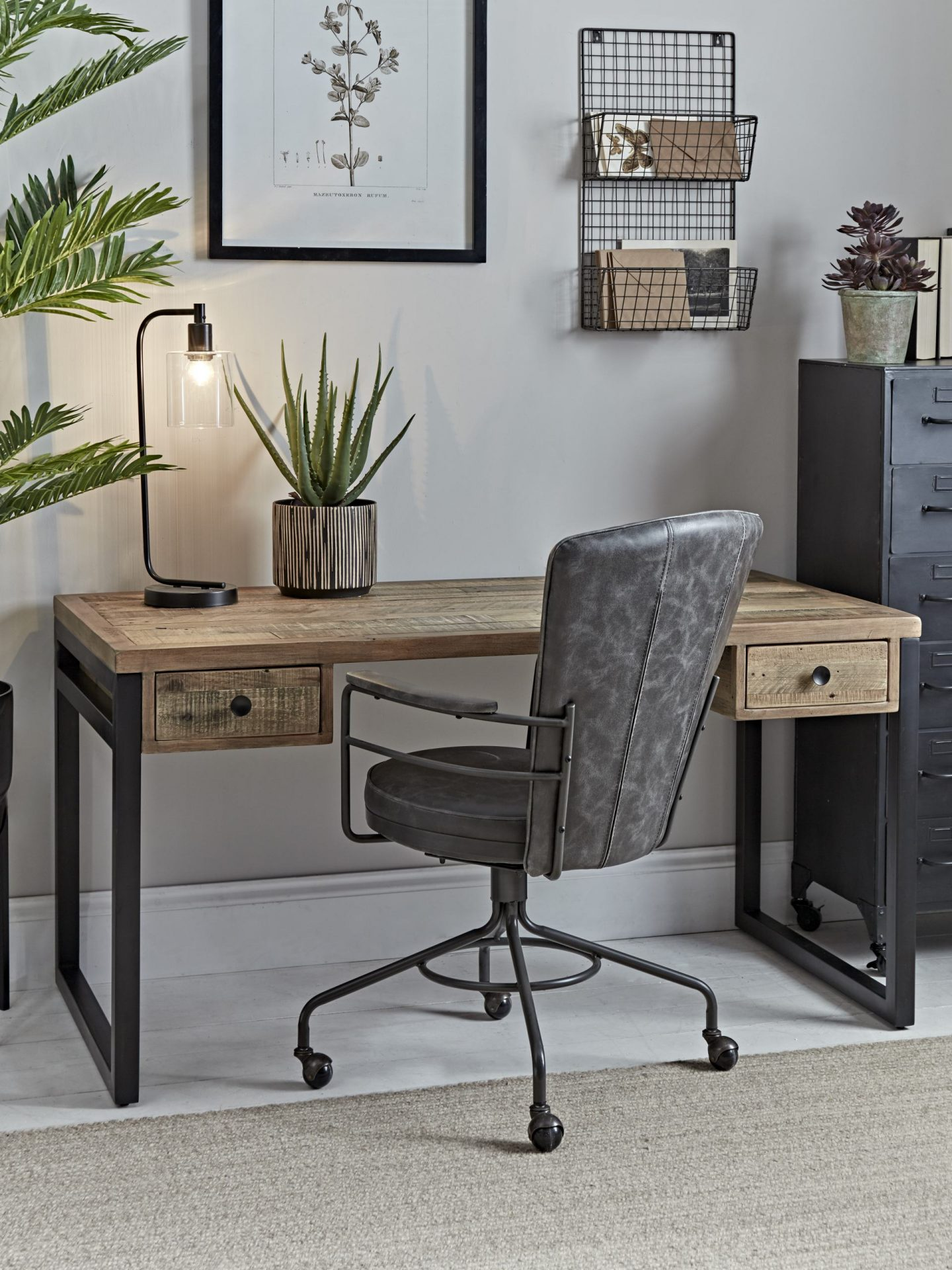 Industrial desk from cox and cox