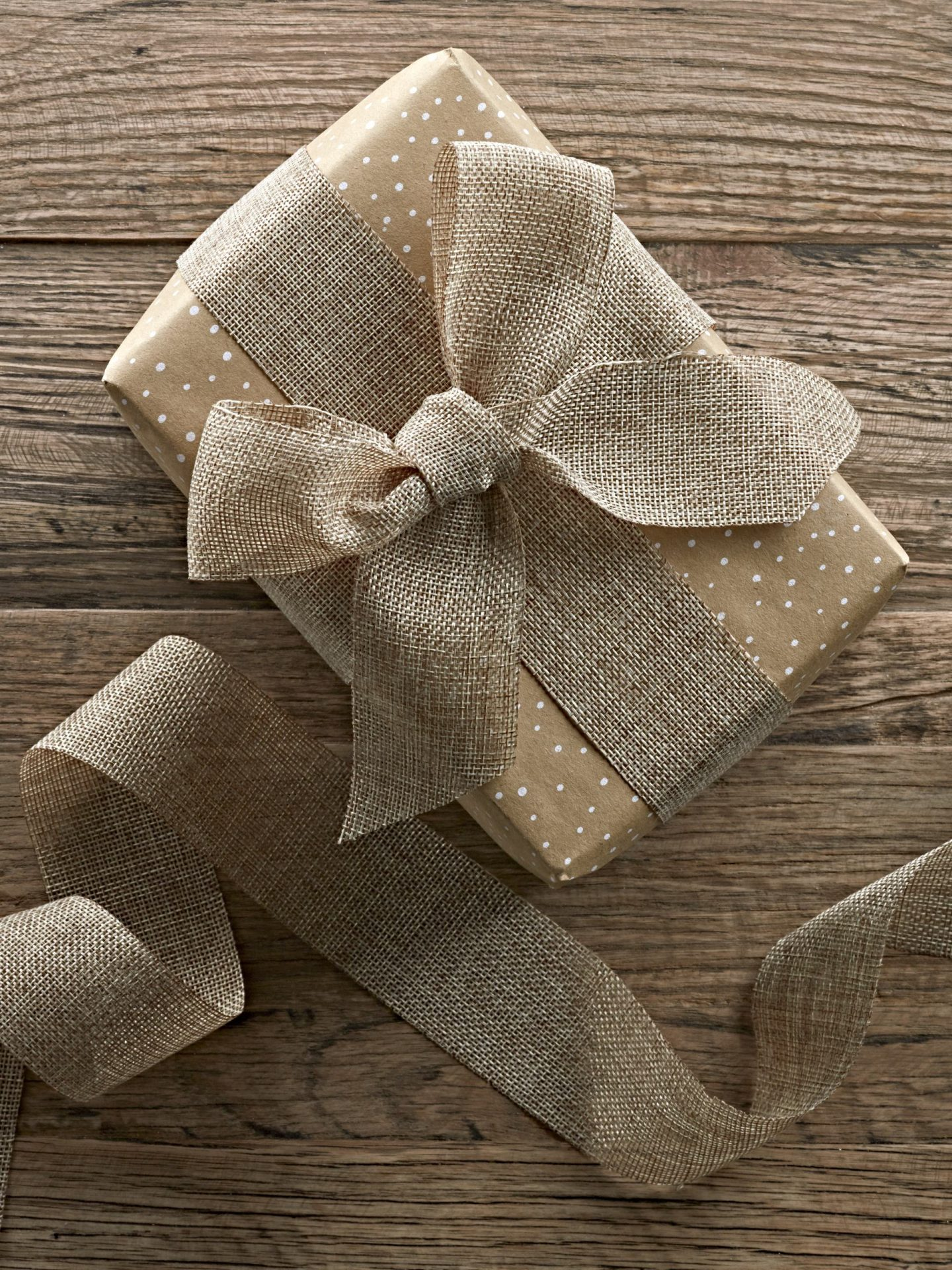 Reversible recycled christmas wrapping paper by cox and cox.