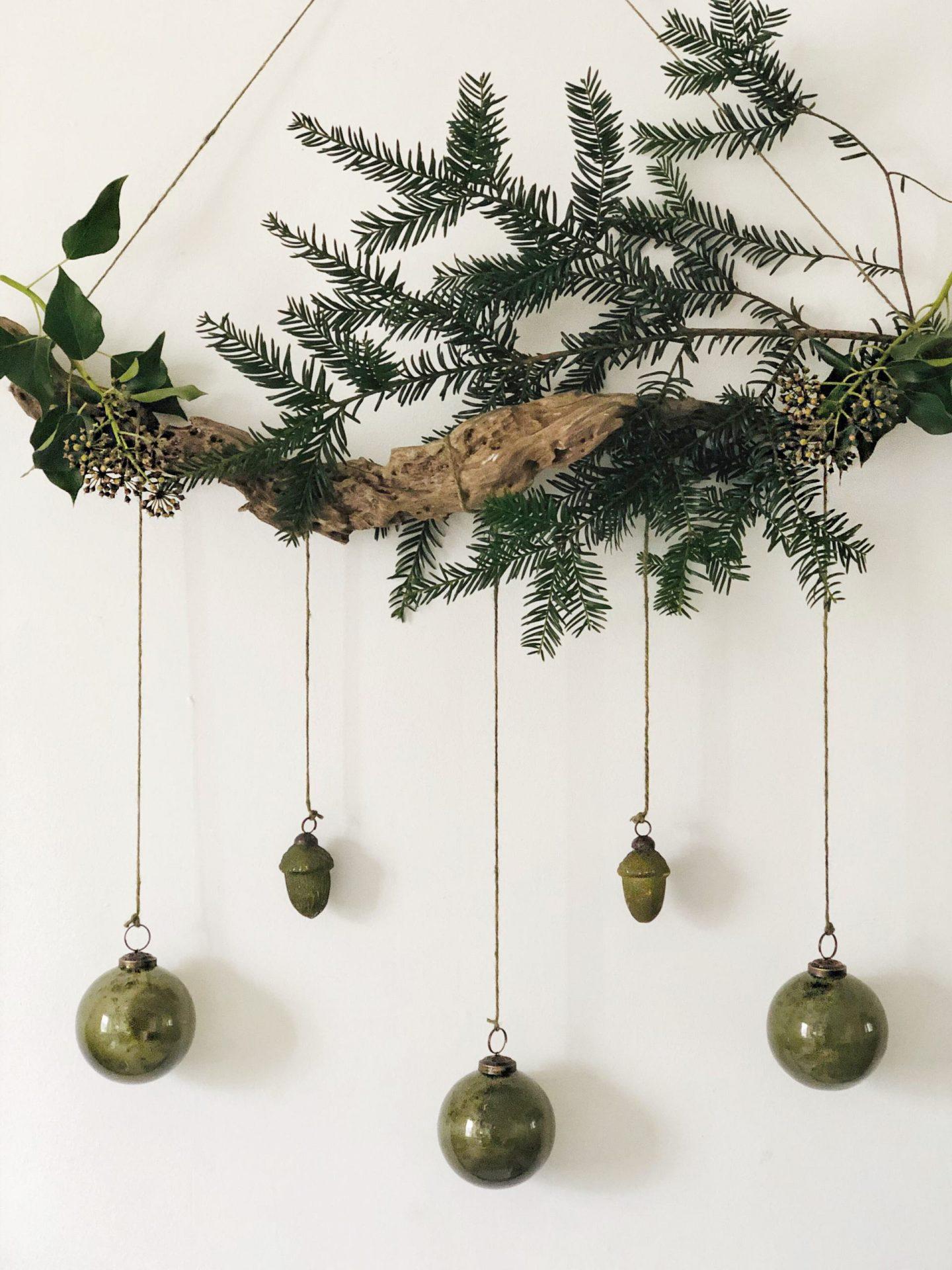 Scandi christmas garland