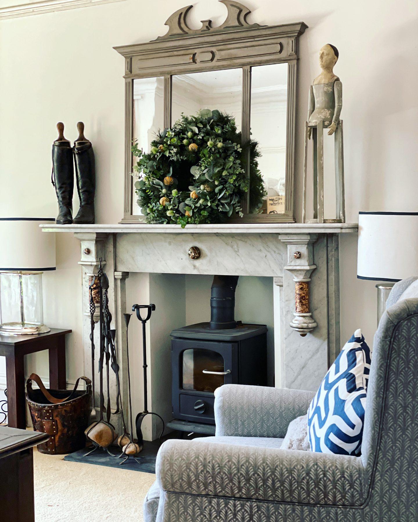 Victorian gothic semi detached house - the living room. Owned by Jp Clark @jpslifeandloves jpslifeandloves.com