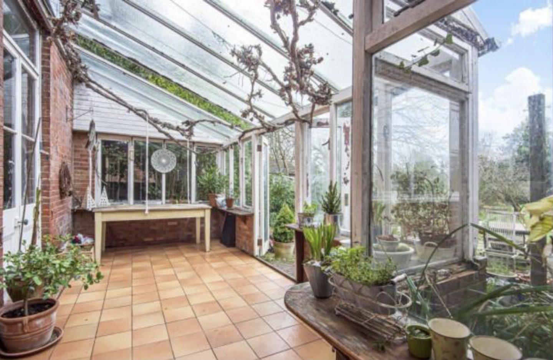 Dilapidated conservatory