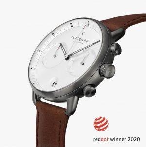 Nordgreen Pioneer Watch – Red Dot Design winner 2020 – Danish minimalist design by Jakob Wagner. Ad *