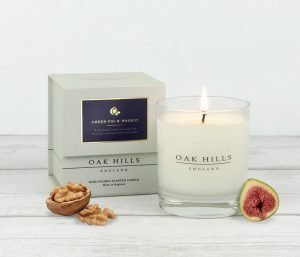 Oak Hills Green Fig & Walnut Candle from Lower Lodge.