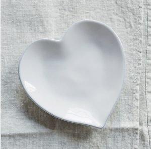 Heart Side Dish – The White Company. *