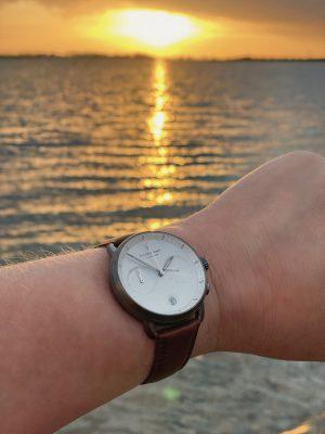 Nordgreen Pioneer Watch – Danish minimalist design by Jakob Wagner. Ad *
